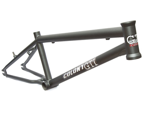Colony GTI Race Frame - Matte Metal Grey - Back Bone BMX Shop Australia
