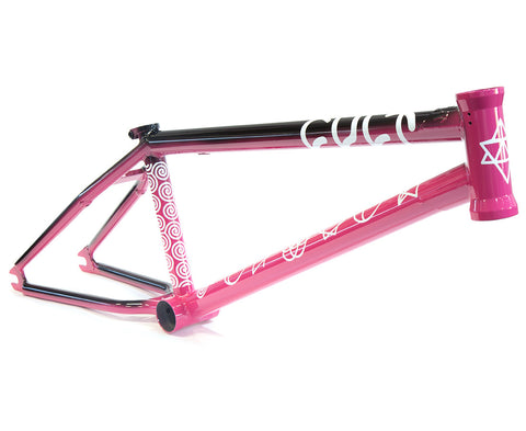 Cult Crew Frame - Two Tone Ruby Red (Alex Kennedy Colourway)