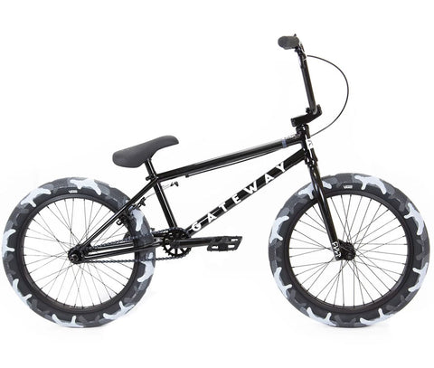Cult Gateway BMX Bike (2020) - Black
