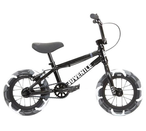 "Cult Juvenile 12"" BMX Bike (2020) - Black"
