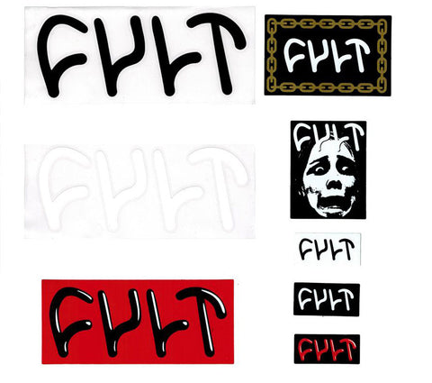 Cult BMX Sticker Kit