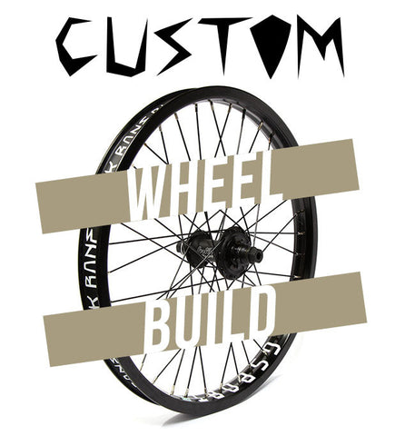 Custom BMX Wheel Build - Back Bone BMX Shop Australia