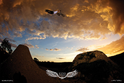 Dane Searls D.A.N.E Tribute Poster - Limited Edition - Back Bone BMX Shop Australia