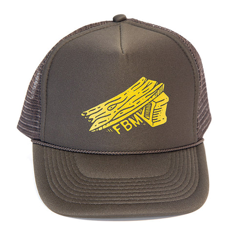 FBM BYO Trucker Hat - Brown