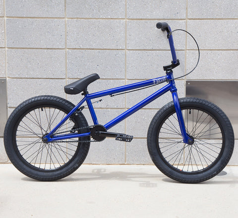 Fiend Type B BMX Bike (2019) - Navy/Black Splatter For Sale Back Bone BMX Australia
