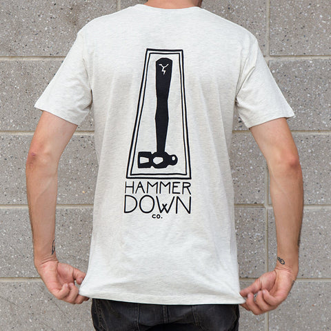 Hammer Down Co. First Edition T-Shirt - Oatmeal