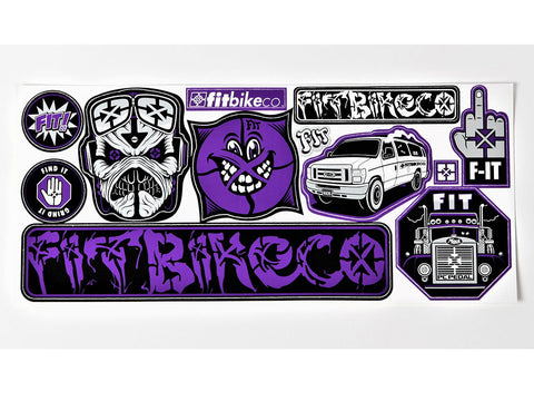 Fitbikeco. Sticker Kit - 12 Pack