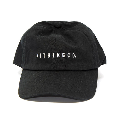 Fit Dad Hat - Black