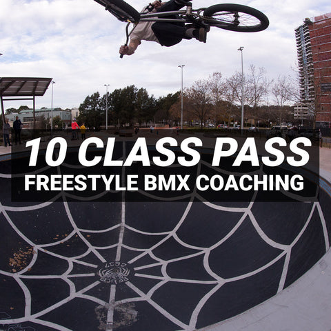 Freestyle BMX Coaching - 10 Session Pass
