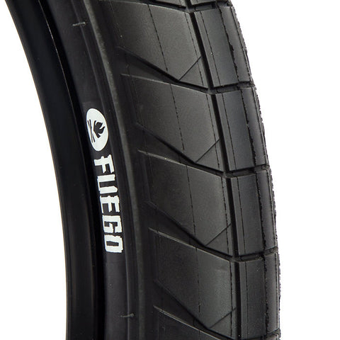 Fly Fuego Tire - Black/Black For Sale Back Bone BMX Australia