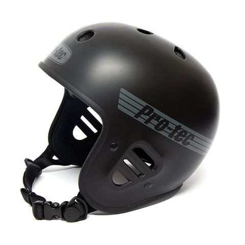 Protec Full Cut Helmet (Certified) - Matte Black For Sale Back Bone BMX Australia