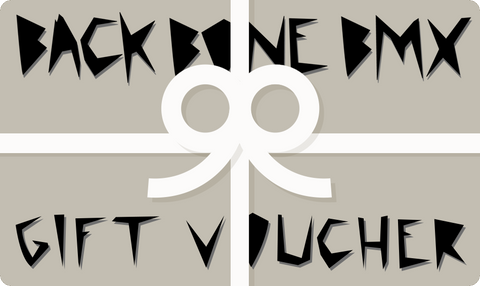 Back Bone BMX Gift Voucher