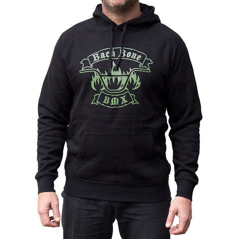 Back Bone BMX Handlebar Logo Hoody - Back Bone BMX Shop Australia
