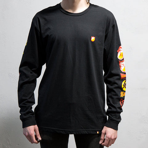 S&M History Long Sleeve - Black