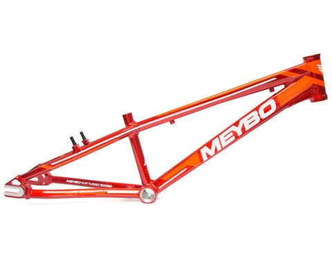 Meybo Holeshot 2018 Junior Race Frame - Red/Orange For Sale Back Bone BMX Australia