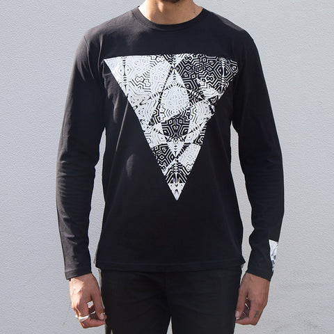 United Hooper Long Sleeve - Black