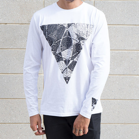 United Hooper Long Sleeve - White For Sale Back Bone BMX Australia