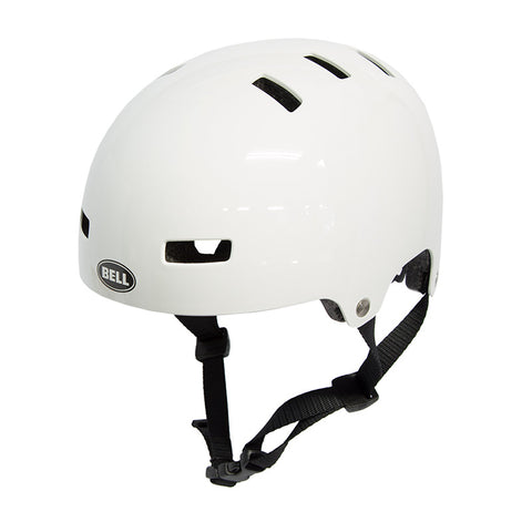 Bell Local Helmet - White - Back Bone BMX Shop Australia