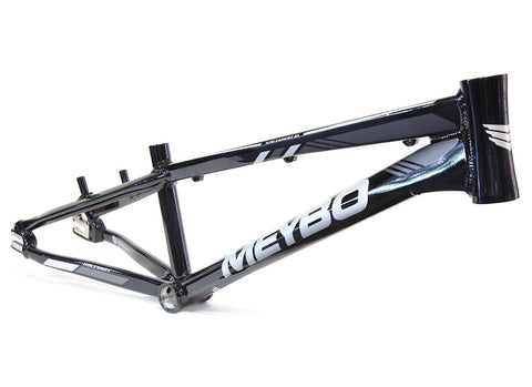 Meybo Holeshot Race Frame (2019) - Black/Silver/Grey For Sale Back Bone BMX Australia