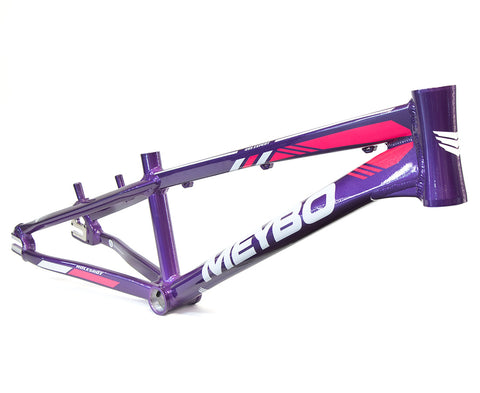 Meybo Holeshot Race Frame (2019) - Purple/White/Pink For Sale Back Bone BMX Australia