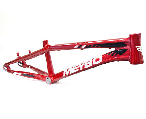Meybo Holeshot Race Frame (2019) - Red/White/Black For Sale Back Bone BMX Australia