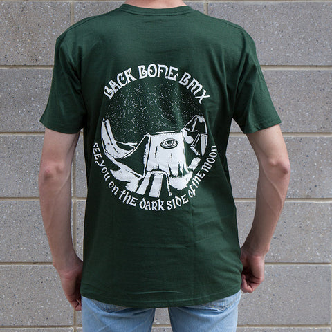 Back Bone BMX Mind's Eye T-Shirt - Forest Green