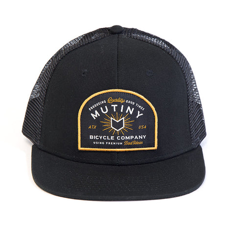 Mutiny MFG Mesh Hat For Sale Back Bone BMX Australia
