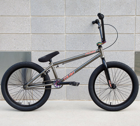 Colony Premise 2018 BMX Bike - Metal Gold/Rainbow - Back Bone BMX Shop Australia