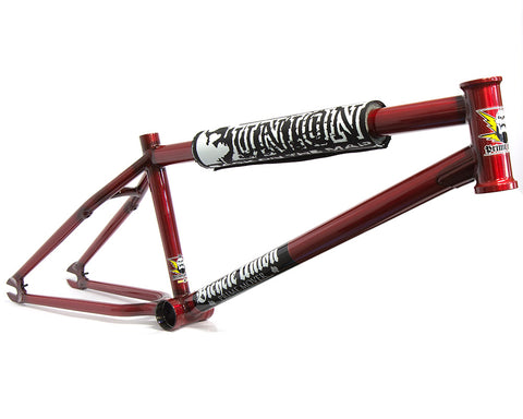 United x Bicycle Union Prime Mover Frame For Sale Back Bone BMX Australia