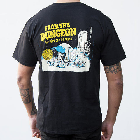 Profile From The Dungeon T-Shirt For Sale Back Bone BMX Australia