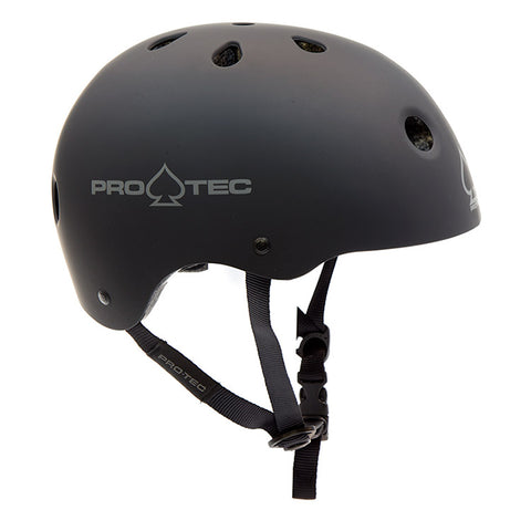 Protec Classic Helmet (Certified) - Matte Black For Sale Back Bone BMX Australia
