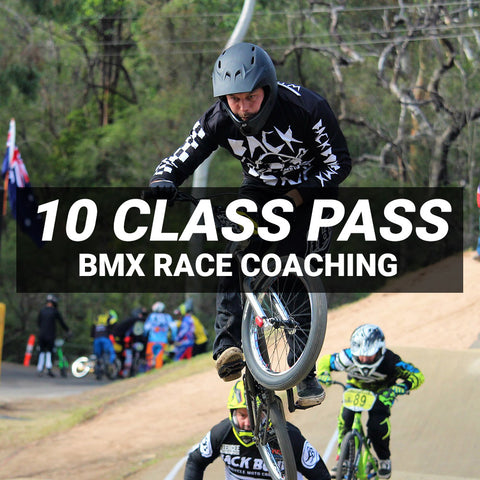BMX Race Coaching - 10 Session Pass