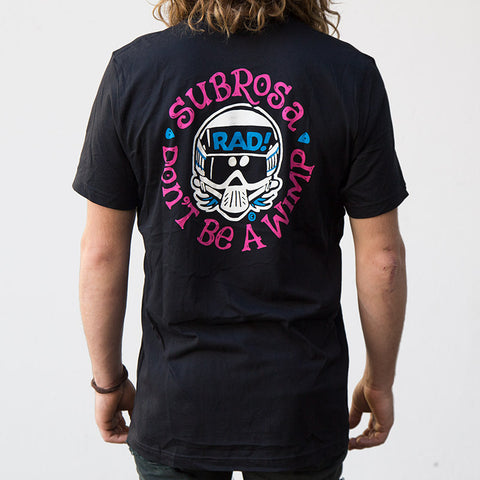 Subrosa Radical Rick T-Shirt design for sale Back Bone BMX
