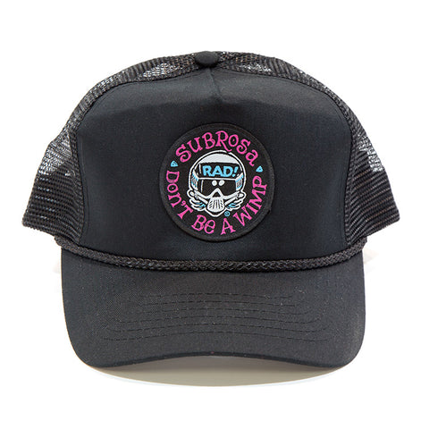 Subrosa Radical Rick No Wimps Snapback For Sale Back Bone BMX Australia