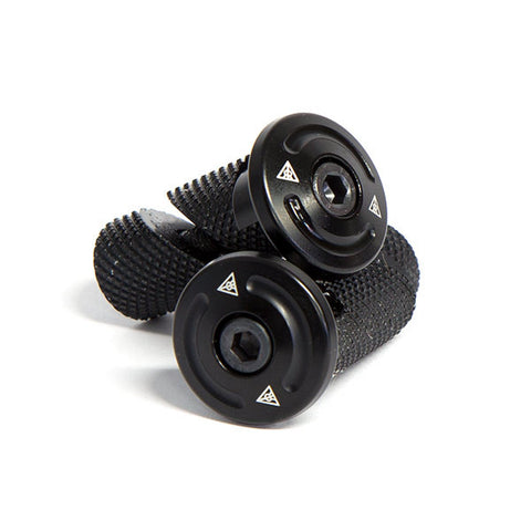 Relic Endure Bar Ends - Black For Sale Back Bone BMX Australia