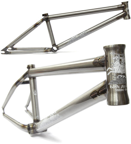 Terrible One Ruben Frame - Raw For Sale Back Bone BMX Australia