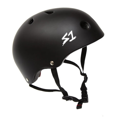 S-One Lifer Helmet - Matte Black For Sale Back Bone BMX Australia