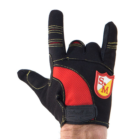 S&M Biltwell Shield Gloves For Sale Back Bone BMX Australia