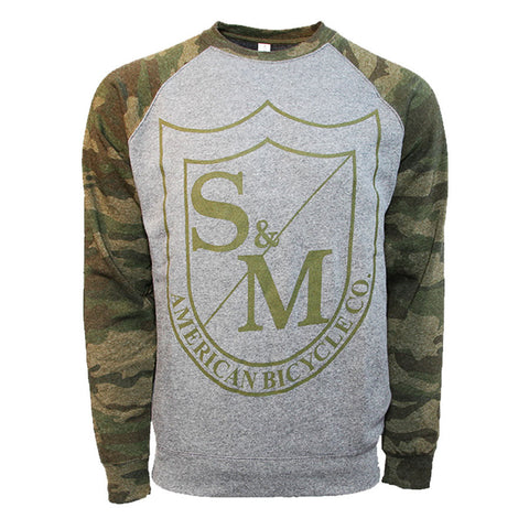 S&M Big Shield Crewneck