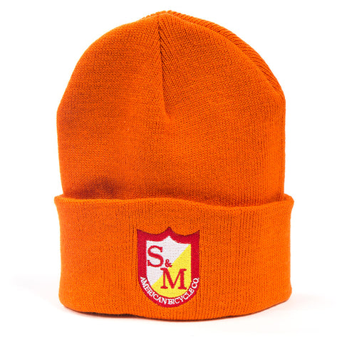 S&M Shield Beanie - Orange