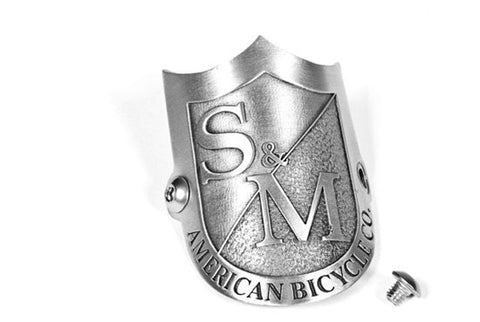 S&M Head Tube Badge For Sale Back Bone BMX Australia