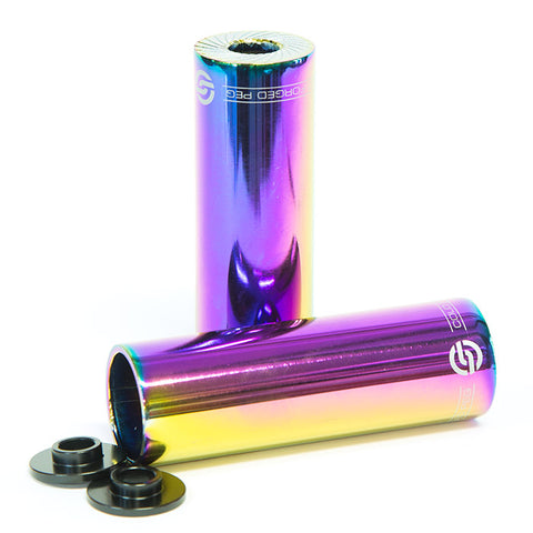 Oil Slick BMX pegs for sale Back Bone BMX Australia