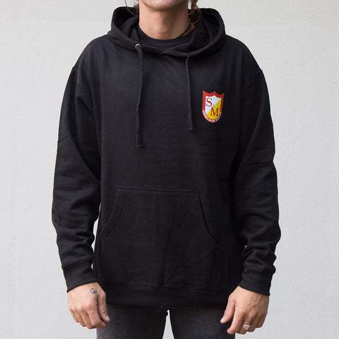 S&M Shield Pull Over Hoodie For Sale Back Bone BMX Australia