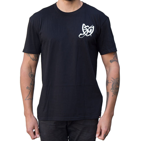 S&M Shovel Shield T-Shirt - Black
