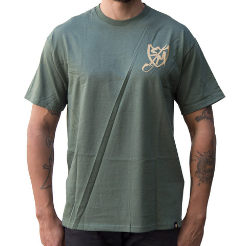 S&M Shovel Shield T-Shirt - Military Green