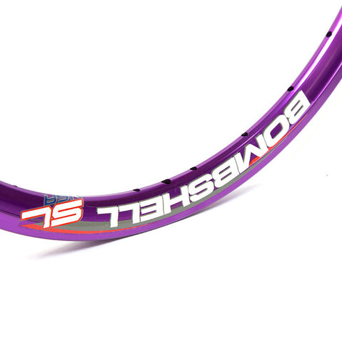 "Bombshell SL 1-3/8"" Rim - Purple - Back Bone BMX Shop Australia"