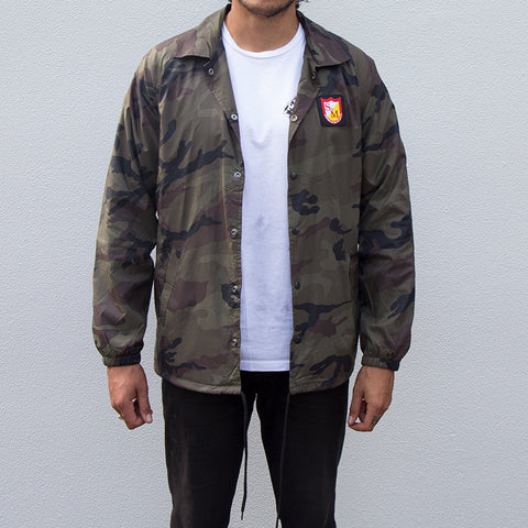 S&M Windshield Coach Jacket - Camo
