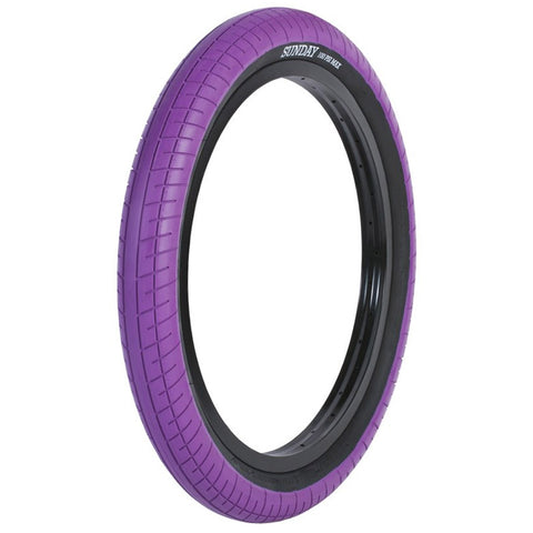 Sunday Street Sweeper Tire - Purple