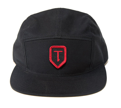 Terrible One Patch Camp Hat - Black