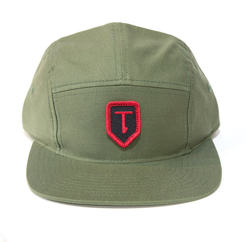 Terrible One Patch Camp Hat - Olive